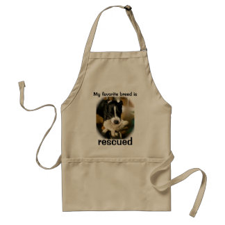 Rescue Dogs Adult Apron
