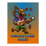RESCUE DOGS ROCK! PRINT