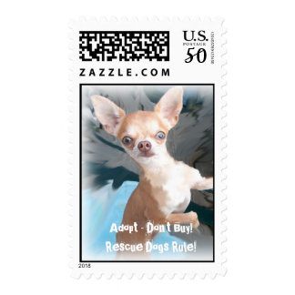 Rescue Dogs Rule! Postage