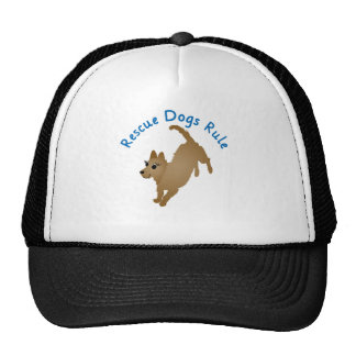 Rescue Dogs Rule v2 Trucker Hat