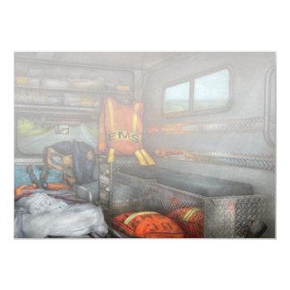 Rescue - Emergency Squad Card