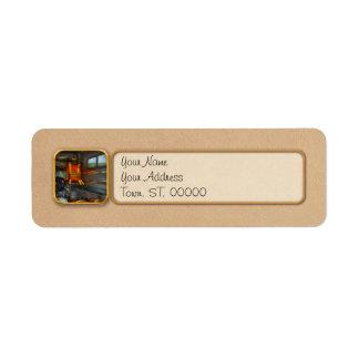 Rescue - Emergency Squad Return Address Label