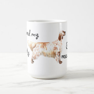Rescue English Setter Coffee Mug