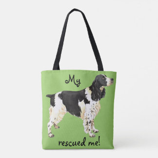 Rescue English Springer Spaniel Tote Bag