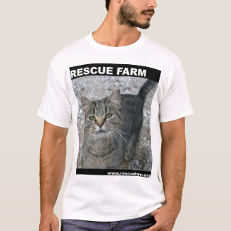 Rescue Farm Cat T-Shirt