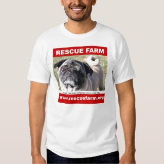 Rescue Farm Pug Shirt