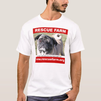 Rescue Farm Pug Shirt