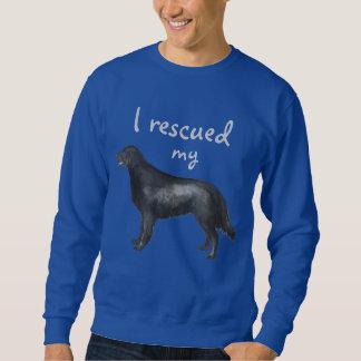 Rescue Flat-Coated Retriever Sweatshirt