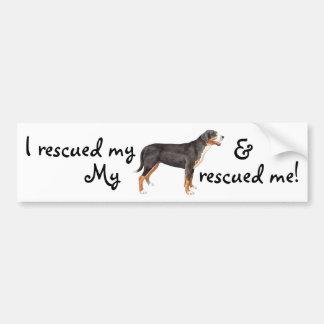 Rescue Greater Swiss Mountain Dog Bumper Sticker