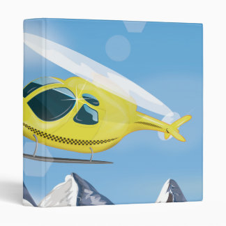 Rescue Helicopter Binder
