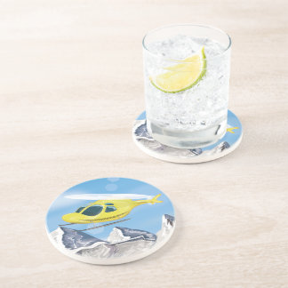 Rescue Helicopter Drink Coaster