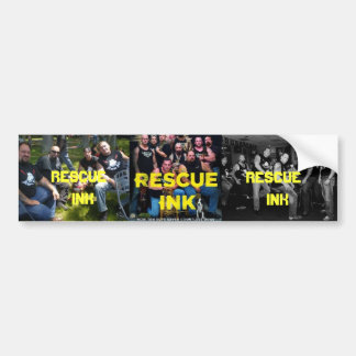 RESCUE INK Sticker (ANIMAL RESCUE GROUP)
