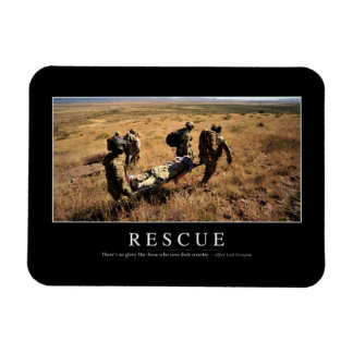 Rescue: Inspirational Quote 1 Magnet