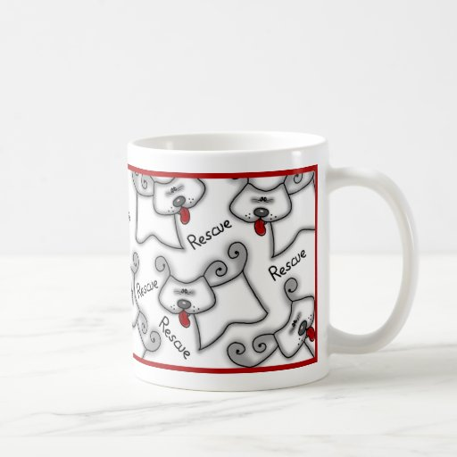 Rescue...it's a love thing! mugs
