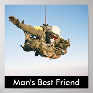Rescue Jumpers, Man's Best Friend Print