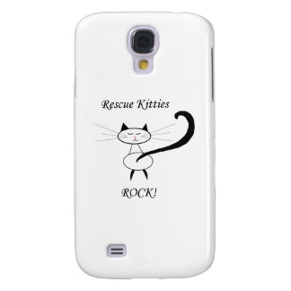 Rescue Kitties Rock! Galaxy S4 Covers