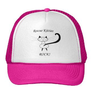 Rescue Kitties Rock! Trucker Hat