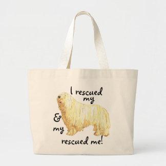 Rescue Komondor Large Tote Bag
