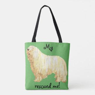 Rescue Komondor Tote Bag