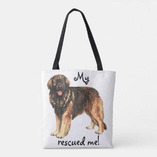 Rescue Leonberger Tote Bag