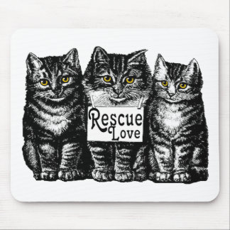 rescue love mouse pad