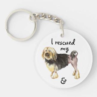 Rescue Lowchen Keychain
