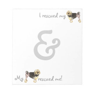 Rescue Lowchen Notepad