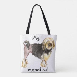 Rescue Lowchen Tote Bag