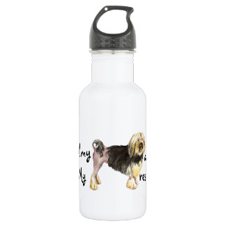 Rescue Lowchen Water Bottle