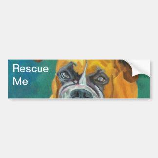 Rescue Me Dog Bumper Sticker