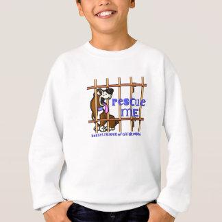 Rescue me kids sweatshirt