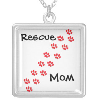Rescue Mom Mother's day Necklaces