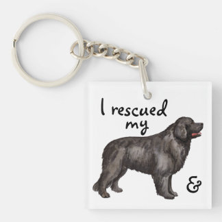 Rescue Newfoundland Keychain