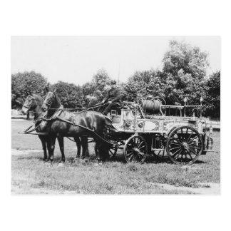 Rescue No. 4, 1911 Postcard