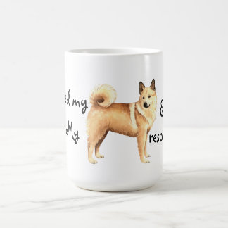 Rescue Norwegian Buhund Coffee Mug