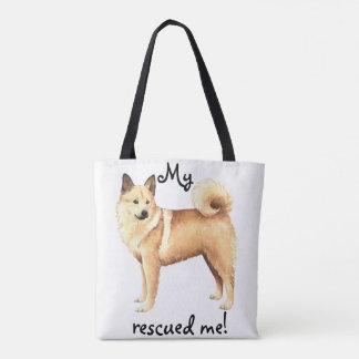 Rescue Norwegian Buhund Tote Bag