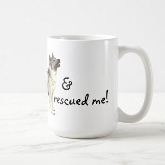 Rescue Norwegian Elkhound Coffee Mug