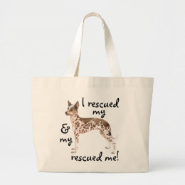 Rescue Peruvian Inca Orchid Large Tote Bag