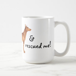 Rescue Pharaoh Hound Mugs