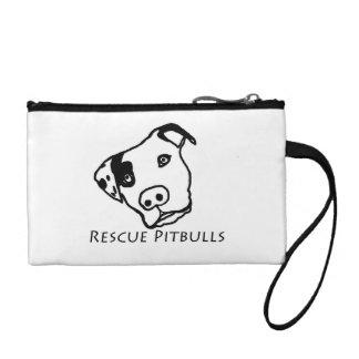 Rescue Pitbulls Clutch Coin Purses