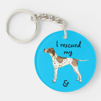Rescue Pointer Double-Sided Round Acrylic Keychain