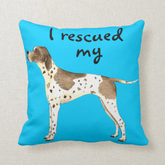 Rescue Pointer Throw Pillow