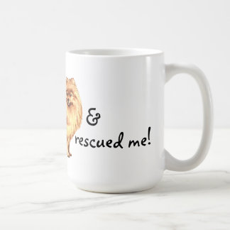 Rescue Pomeranian Coffee Mug