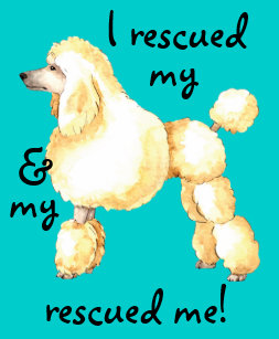 Poodle Rescue Gifts on Zazzle