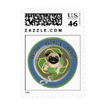 Rescue Recycle Rejoice Postage Stamps