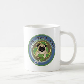 Rescue Recycle Rejoice Tees and Gifts Classic White Coffee Mug
