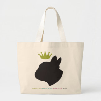 Rescue Royalty Large Tote Bag