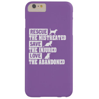 Rescue, Save, Love! Barely There iPhone 6 Plus Case