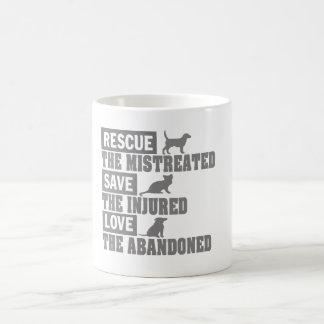 Rescue, Save, Love! Coffee Mug