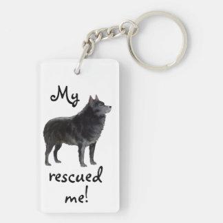 Rescue Schipperke Keychain